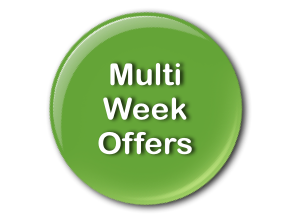 Multi week Canal Boating Offers