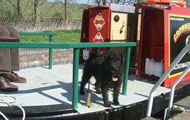 Pet friendly canal boating holidays