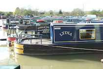 The S-Lydia canal boat