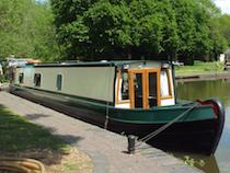 The Star4-2 canal boat